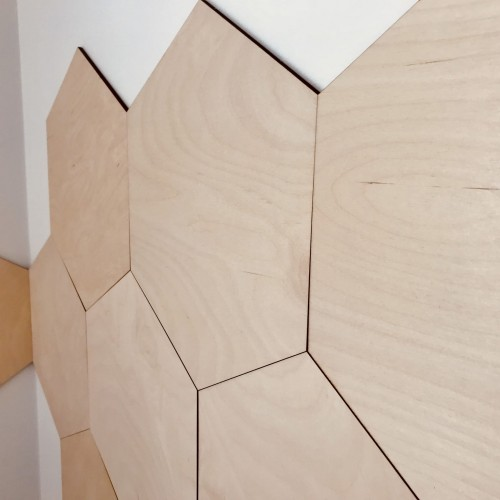 Panel ścienny Hexagon